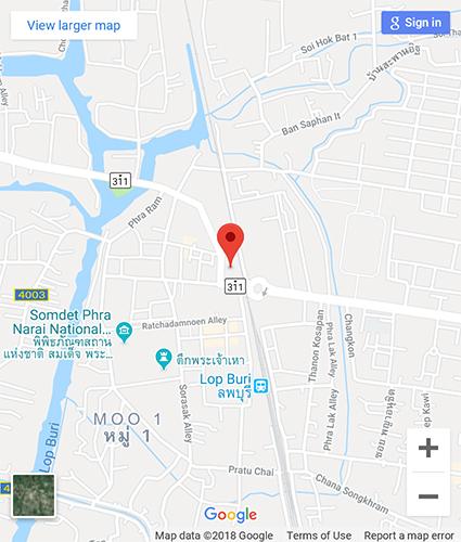 Lopburi Thailand Map.Thailex Thailand Travel Encyclopedia